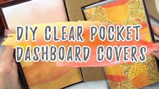 DIY TN Dashboard Covers     Travelers Notebook Clear Dashboard Covers