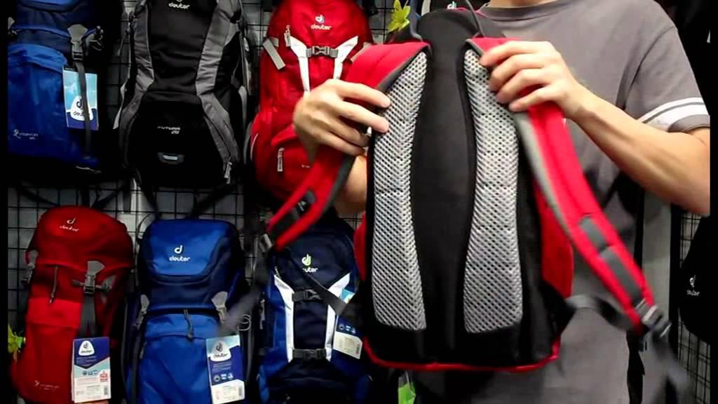 Городской рюкзак Deuter STEPOUT 16 16 л серый 3810315-7712