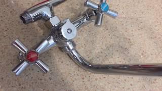 видео Как очистить кран от известкового налета
