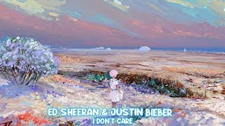 Ed Sheeran & Justin Bieber - I Don't Care [ Nightcore ]