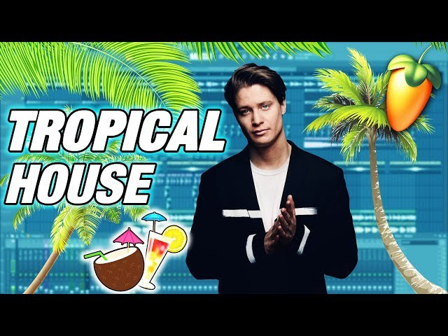 TUTO FL STUDIO - LA TROPICAL HOUSE