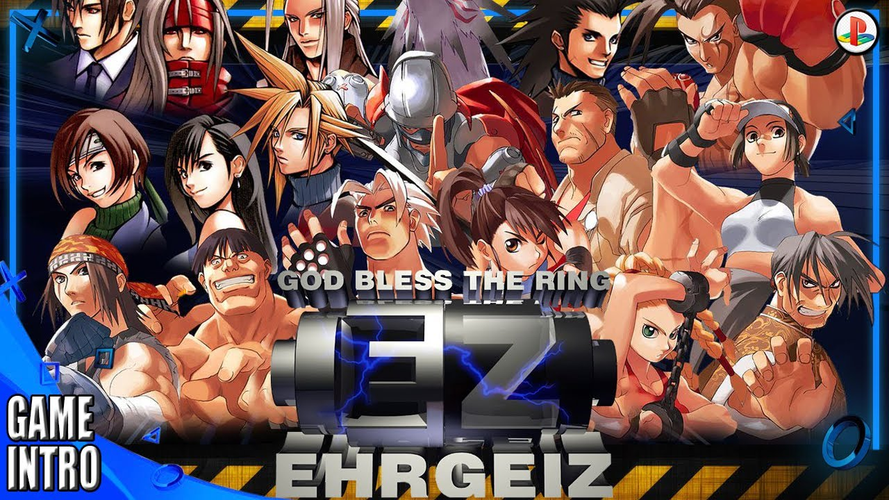 Ehrgeiz God Bless the Ring – Intro & Gameplay PS20 20998