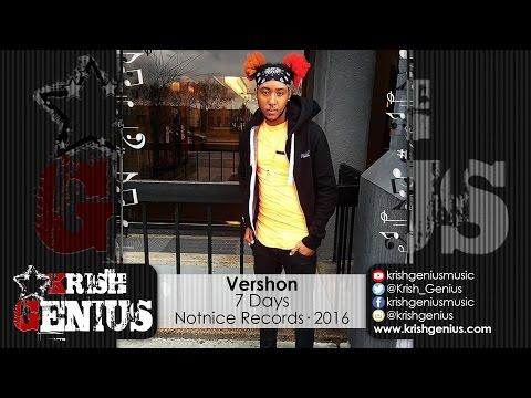 Vershon - 7 Days (Raw) Ova Dweet Riddim - May 2016