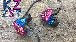 KZ ZST Earphones Review $16