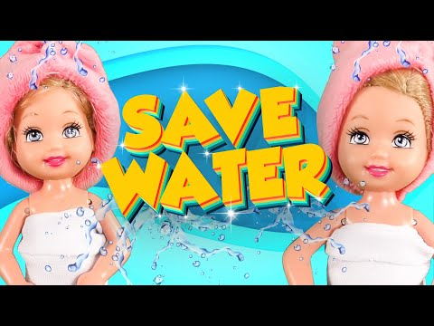 Barbie - Don't Waste Water! | Ep.165