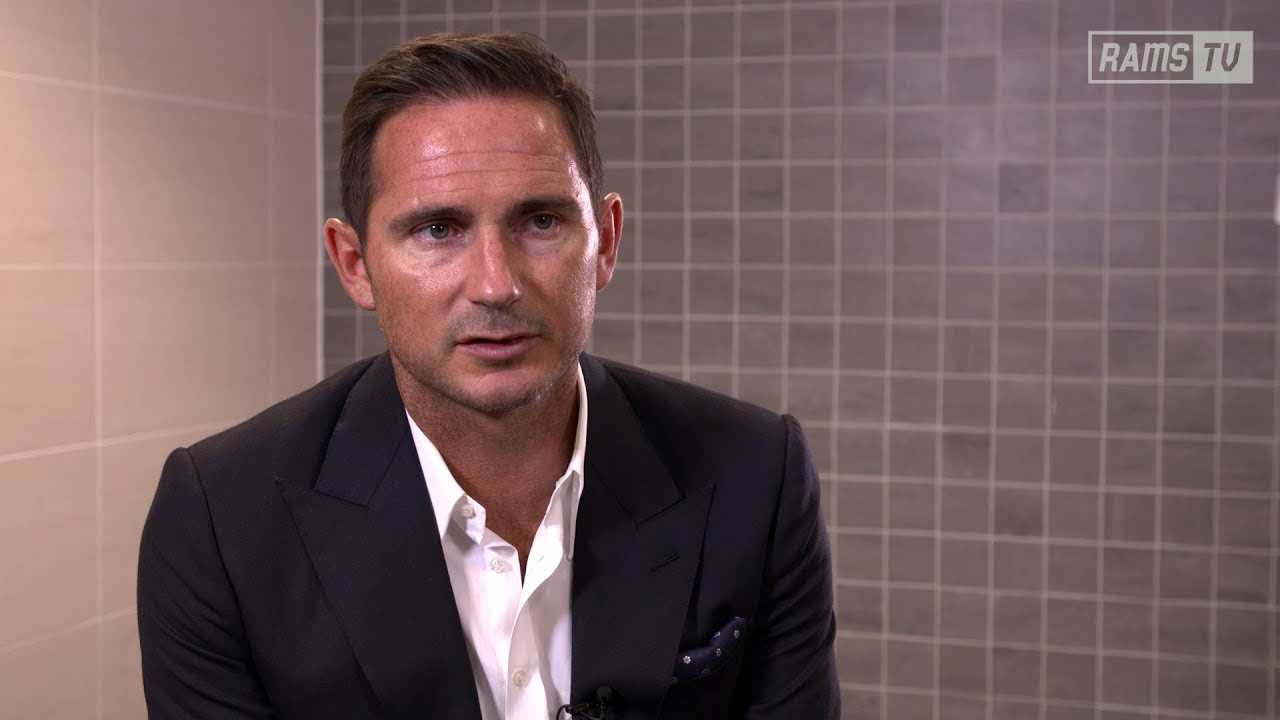 INTERVIEW | Frank Lampard On Time At Derby County - YouTube