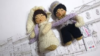 Sposi uncinetto sposini amigurumi married casado