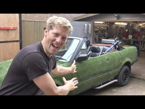 BBQ Grass 2stroke Bubbles HotTub Car Final Touches