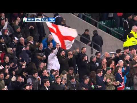Highlights: England 55 France 35