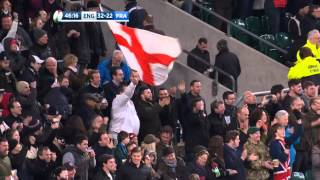 Highlights: England 55 France 35