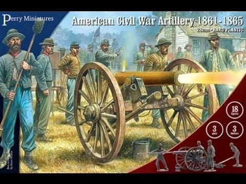 Unboxing Perry Miniatures American Civil War Confederate Artillery