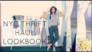 NYC Thrift Haul Lookbook Thumbnail