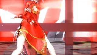 【MMD】HYBRID - TDA China Dress Miku X Luka HD 1080p