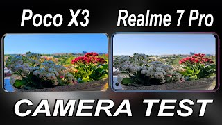 Poco X3 NFC vs Realme 7 Pro Camera Test Comparison