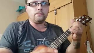 Calum Scott dancing on my own ukulele tutorial
