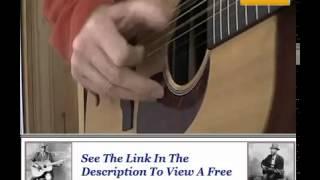 Acoustic Blues Guitar Lessons - Hesitation Blues Reverend Gary Davis Style