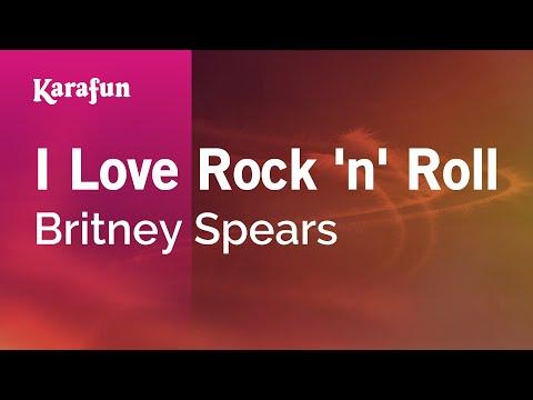 Karaoke I Love Rock 'n' Roll - Britney Spears *