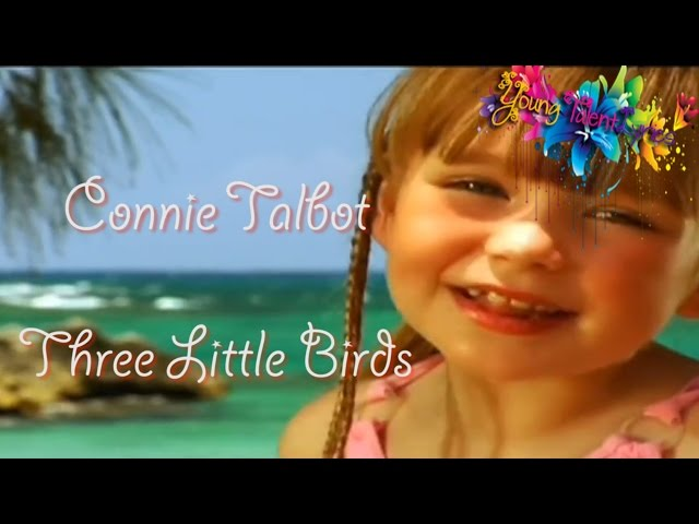 Connie Talbot ツ Three Little Birds (Lyrics)