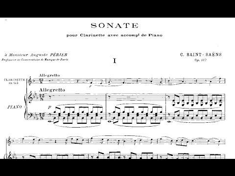 Camille Saint-Saëns: Clarinet Sonata Op. 167 (1921)