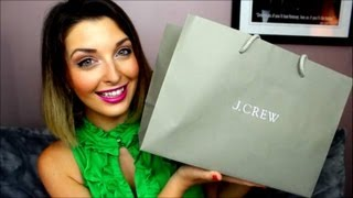 My First J.Crew Haul Thumbnail