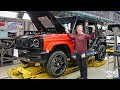 Building My AMG G63 at the Factory! の動画、YouTube動画。