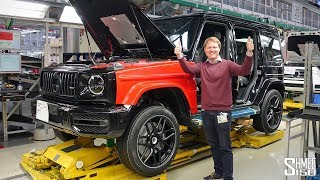 Building My AMG G63 at the Factory!