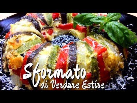 Sformato di verdure estive ricetta veloce e vegetariana - Tutti in tavola ricette ...