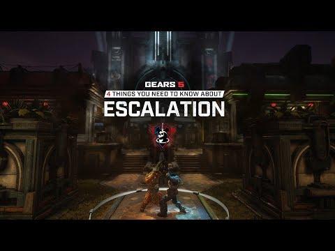 Подробности режима «Эскалация» в Gears 5