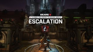 Gears 5 Versus - 4 Things To Know About Escalation