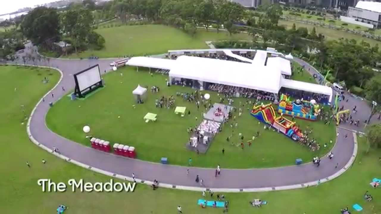 garden by the bay meadow event venue the meadow youtube