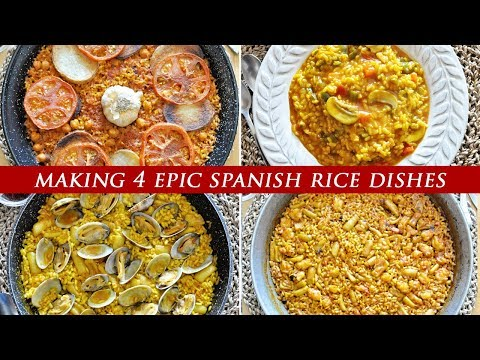 4 Spanish RICE Dishes YOU NEED IN YOUR LIFE