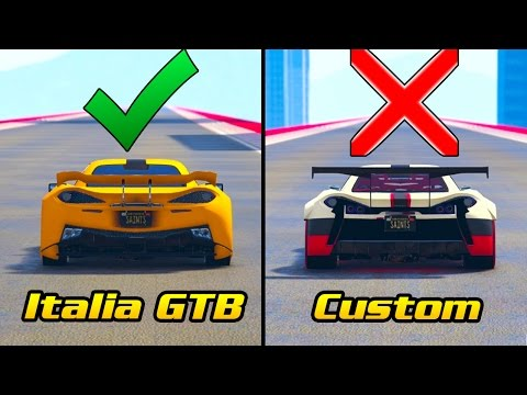 "*WARNING* KNOW THIS BEFORE YOU BUY THE ""ITALIA GTB CUSTOM"" (GTA Online)"