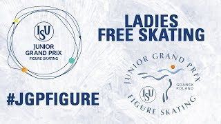 Ladies Free Skating GDANSK 2017