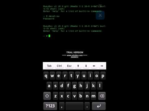 how to increase N9 sound volume using terminal.avi