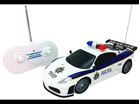 Justice Team Police Rc Police Car 120 Scale Full Function
