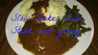 Easy Meals: Slow Cooker Cube Steak And Gravy