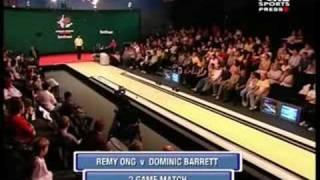 2007 World Tenpin Masters Quarter Final 4 Ong vs Barrett Part 1