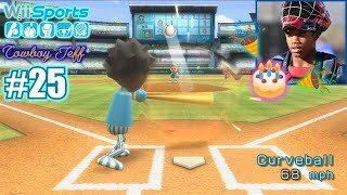 GABE HAS A MONSTER GAME ON HIS BIRTHDAY! | Wii Sports | Baseball #25