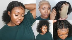 Natural Hair or Wig? Realistic Kinky Curly Wig For Natural Hair   My Quality Hair