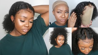 Natural Hair or Wig? Realistic Kinky Curly Wig For Natural Hair | My Quality Hair
