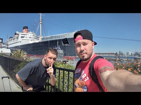EXPLORING A HAUNTED SHIP (QUEEN MARY TOUR) (LIVESTREAM)