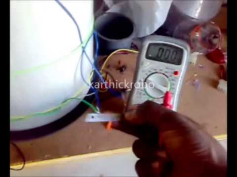 sound energy to electrical energy project