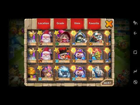 Castle Clash Rolling 3 Years Of Free Gems!!!