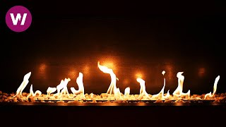 Romantic Fireplace in High Definition ► 3 HOURS ◄ (HD 1080p)