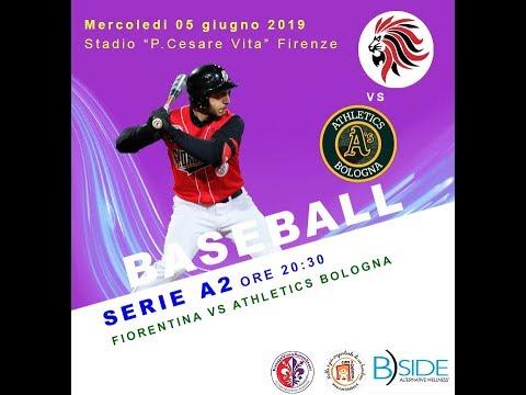 Baseball Serie A2 Fiorentina Baseball Vs Athletics Bologna