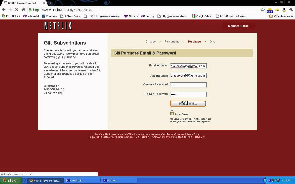Netflix Gift Subscription - YouTube