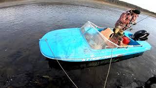 Рыбалка на новой лодке.Часть 2 ая..