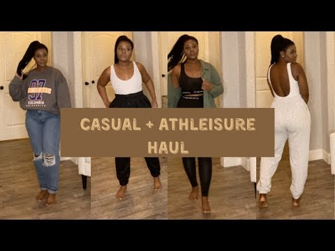 CASUAL+ATHLEISURE HAUL 15 DIFFERENT LOOKS 