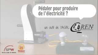 COREN - Pédaler pour produire de l'éléctricité ?
