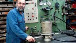 essais moteur hydraulique lohmann+stolterfort L+S L&S